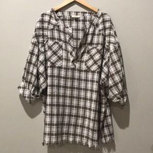 Easel LA Oversized Flannel